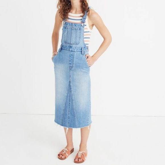 677fbf8ad55 Madewell Reconstructed Overall Jumper